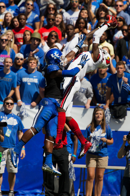 uofl devante parker vs uk