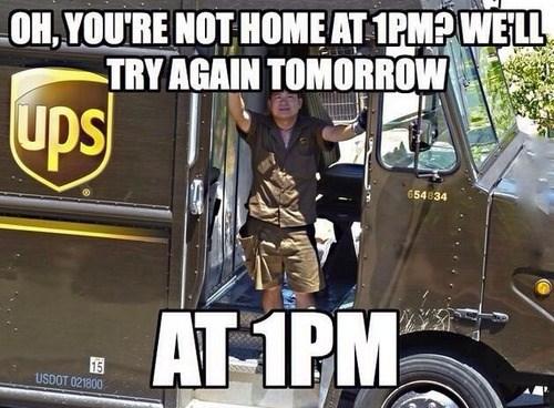 UPS schedule