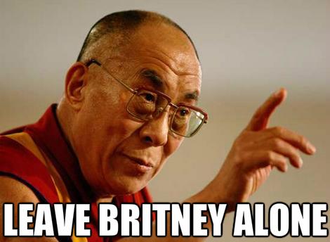 dalai leave britney