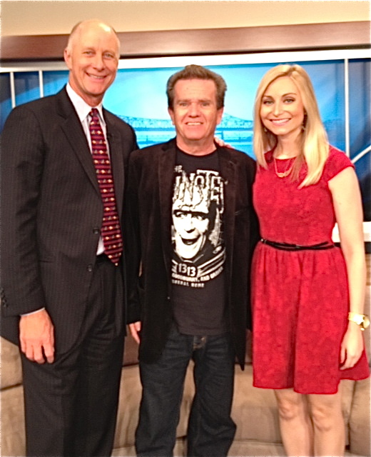 "Terry Meiners, Butch ""Eddie Munster"" Patrick, and Laura Rogers on Great Day Live, October 10, 2013"