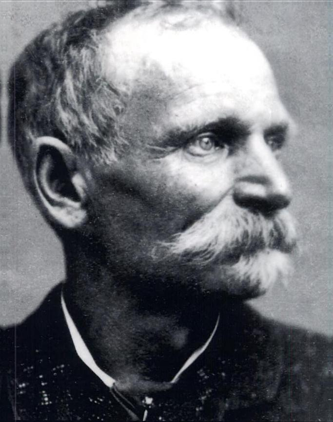 "Charles ""Black Bart"" Bowles, infamous California stagecoach robber"
