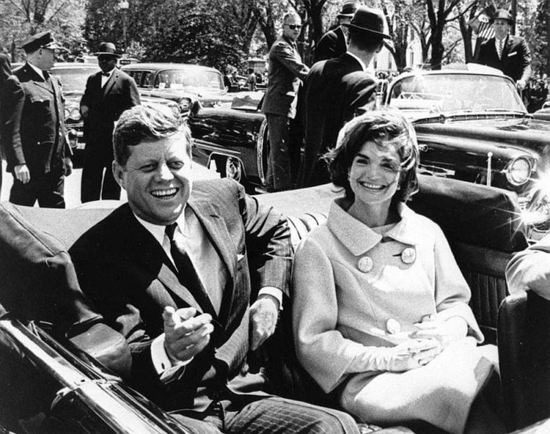 President-John-F-Kennedy-On-The-Day-Of-His-Assassination