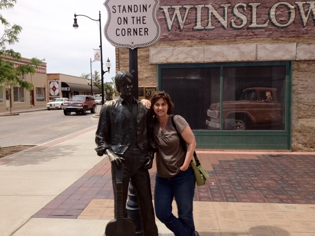 Jackie Gulbe, Winslow Arizona (November 2013)