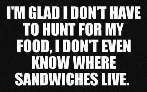 sandwich hunt
