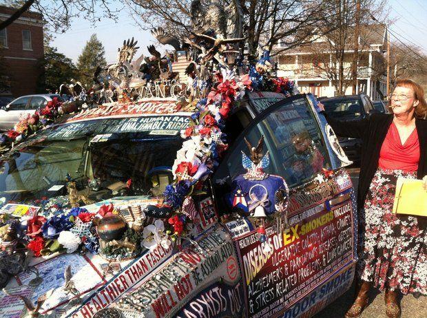 liberty van lady