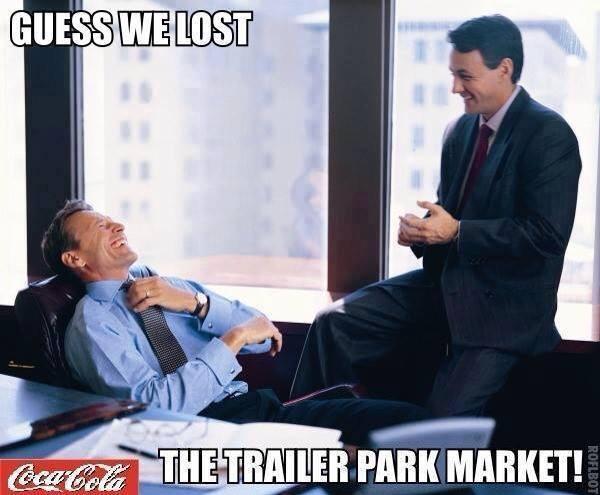 coca cola trailer park