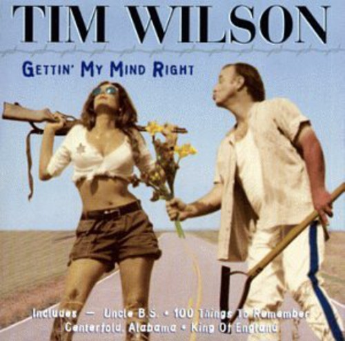 "Tim Wilson's ""Gettin' My Mind Right"" CD featured his first wife, a former Israeli soldier.  The album title is a takeoff of a line from the film ""Cool Hand Luke."""