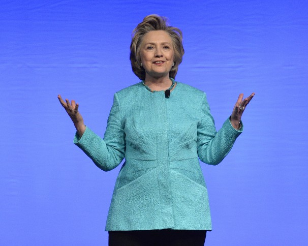 Hillary Clinton, April 26, 2014 in Louisville
