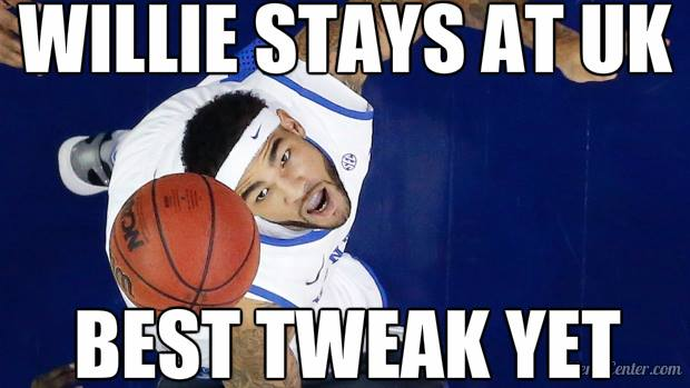 willie cauley stein returns