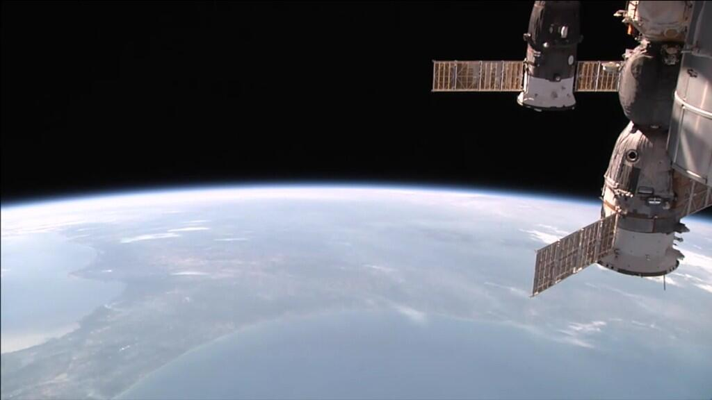 ISS photo, May 6, 2014 via Twitter https://twitter.com/JohnBDempsey/status/463783224875827200/photo/1