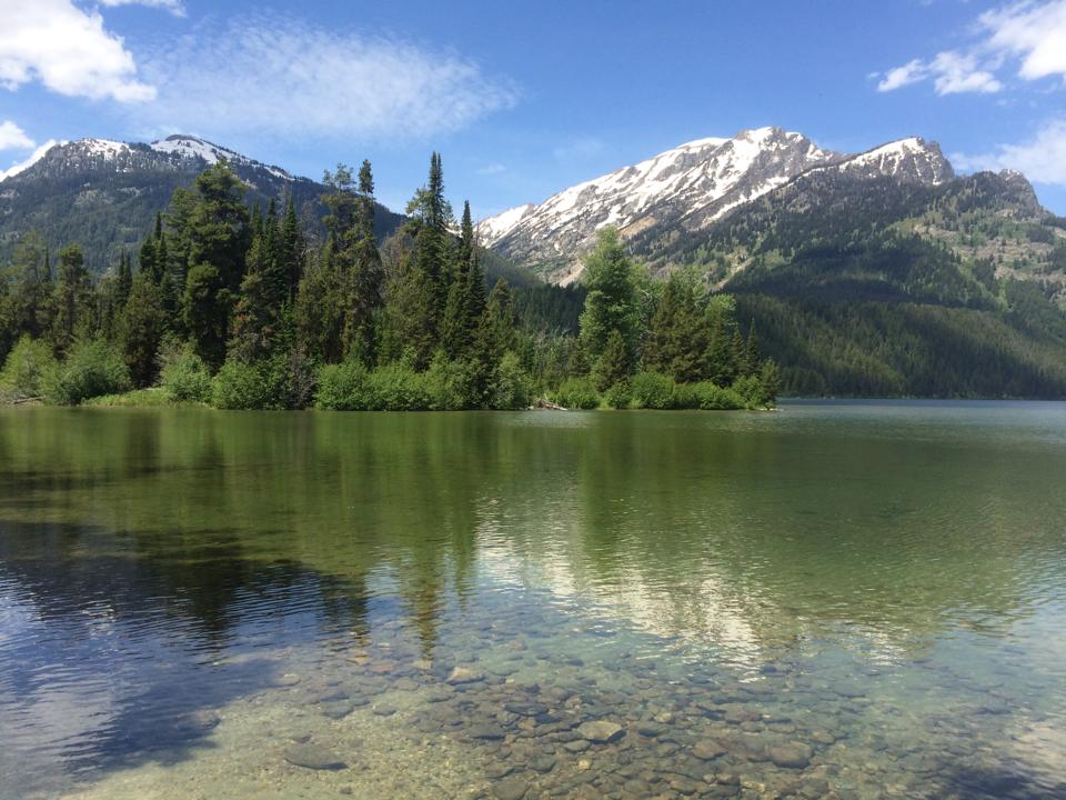 Phelps Lake, Grand Teton National Park, Wyoming (June 2014)