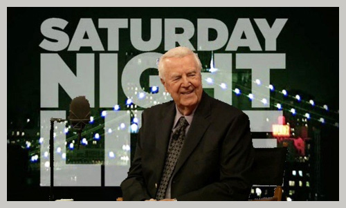 Don Pardo, the voice of Saturday Night Live