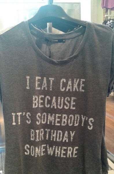 cake birthday shirt