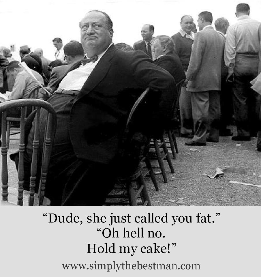 fat guy cake