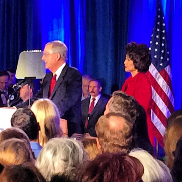 mcconnell elaine chao election 2014