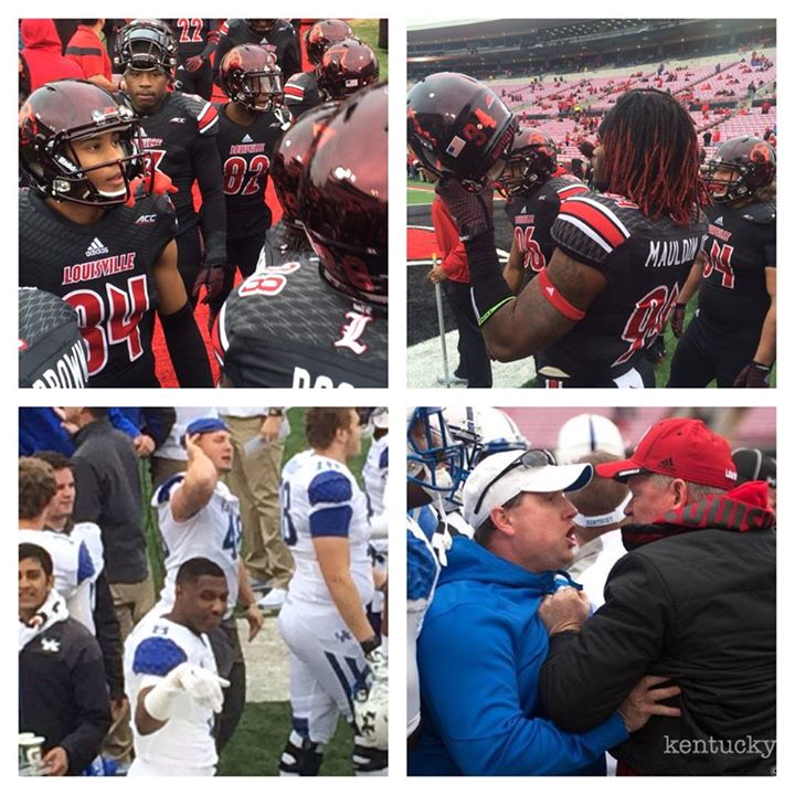 uofl vs uk fb collage 2014