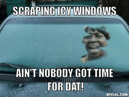 scraping sweet brown