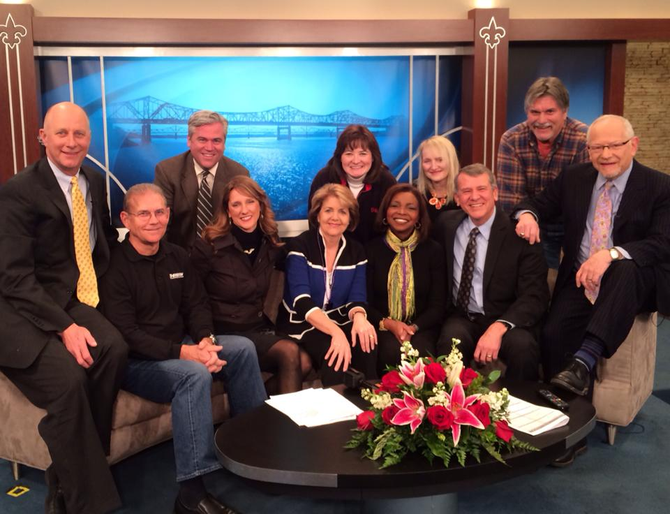 Terry Meiners, Paul Rogers, Joe Arnold, Beth Andrews, Rachel Platt, Debbie Harbsmeier, Jean West, Holly Rudolph, Ken Schulz, Pete Longton, and Barry Bernson.