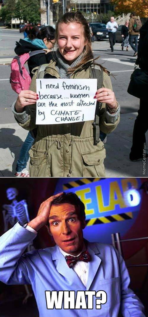 feminist climate change