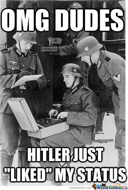 nazi liked status
