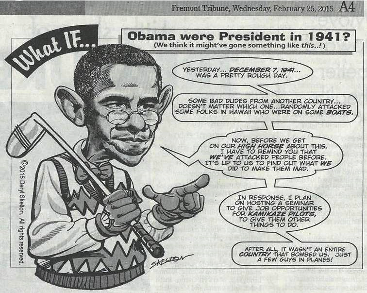 What if Obama were President in 1941?