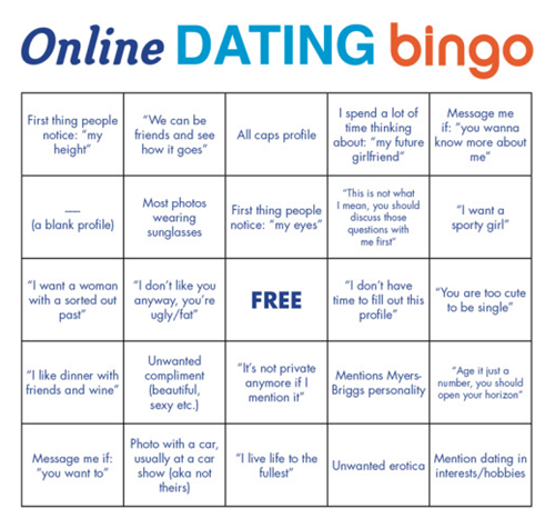 Dating bingo