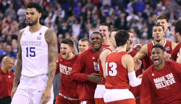 Willie Cauley Stein loss to Wisc 2015