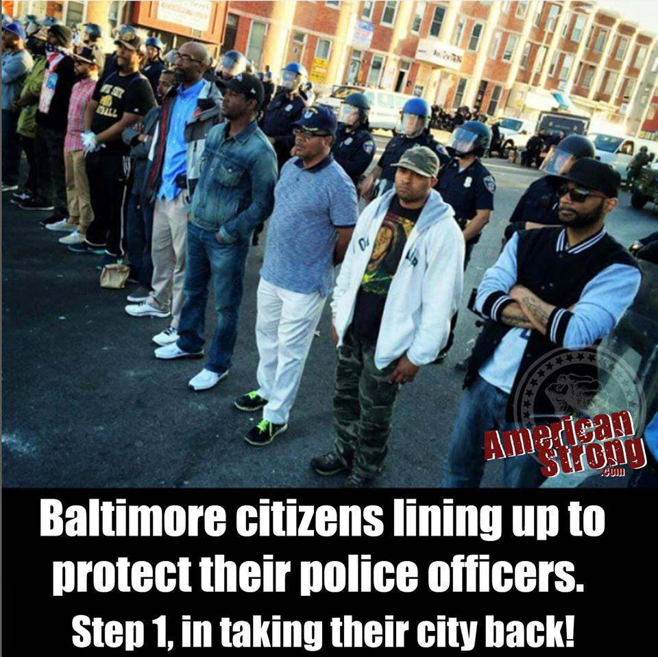 baltimore protects police