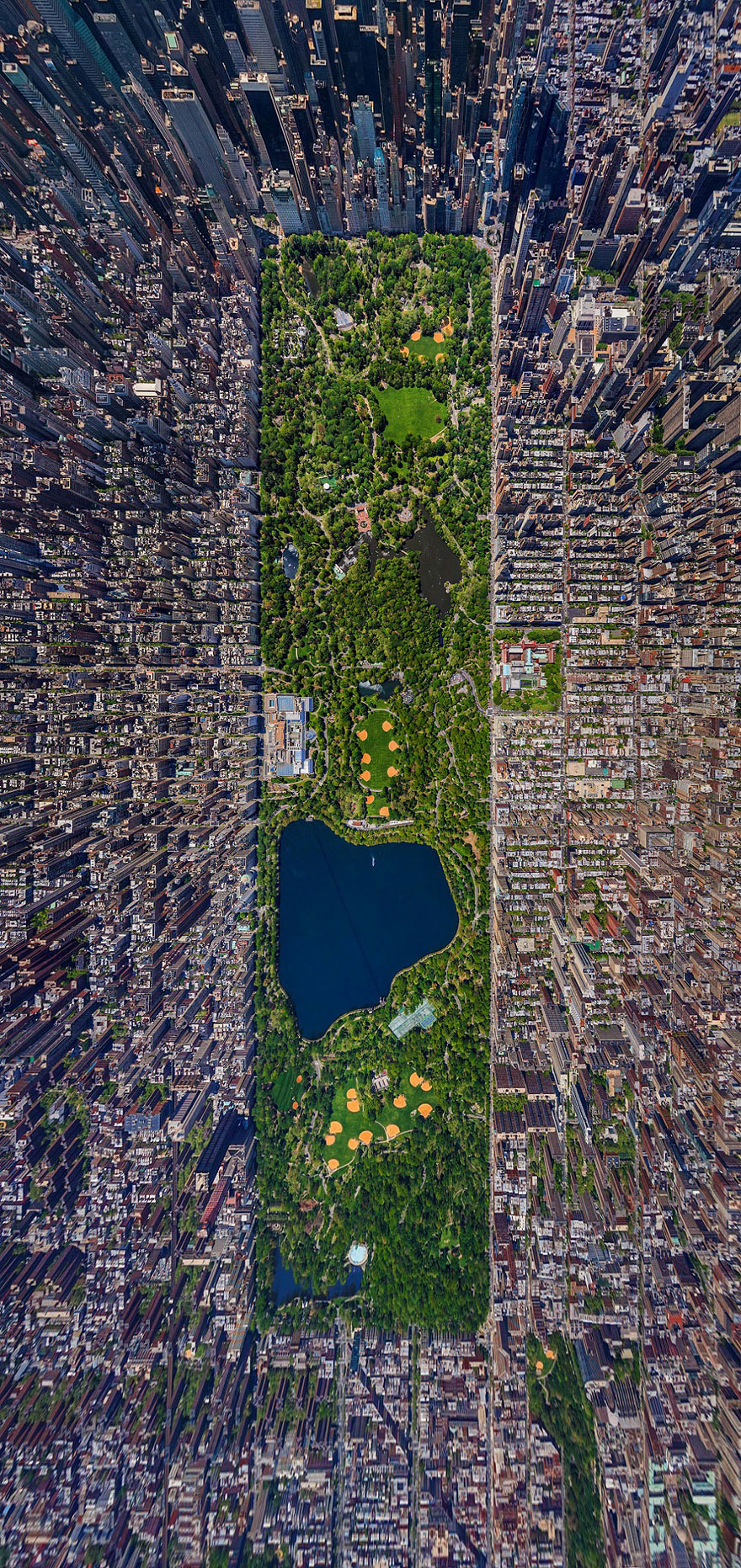 central park birds eye view
