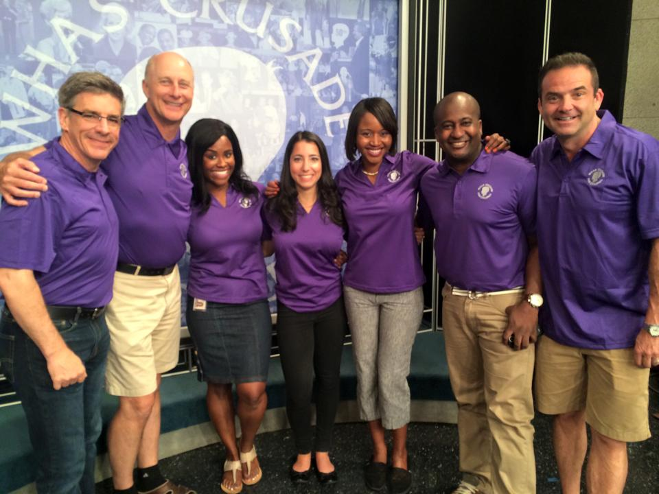 WHAS personalities Tony Cruise, Terry Meiners, Karma Dickerson, Julia Rose, Tabnie Dozier, Derrick Rose, and Tony Vanetti share hosting duties along with a dozen other 840WHAS Radio and WHAS-11 television talent.