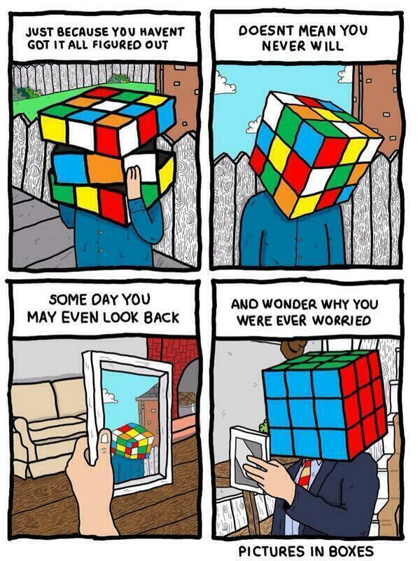 rubik on life