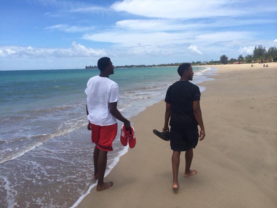 cardinals puerto rico beach