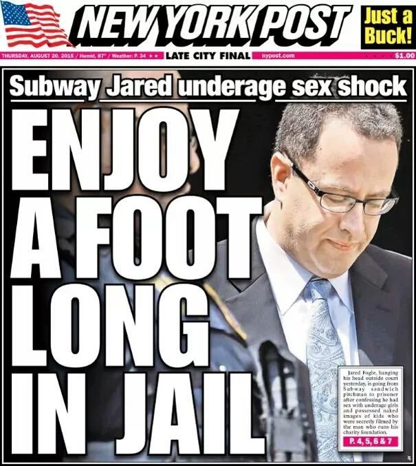 jared fogle headline