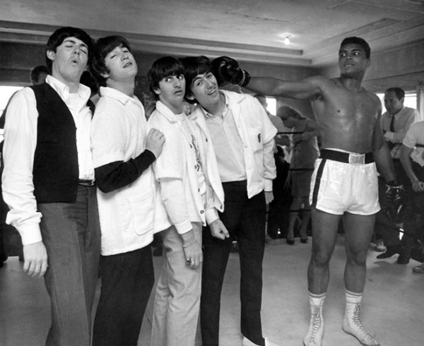 beatles muhammad ali
