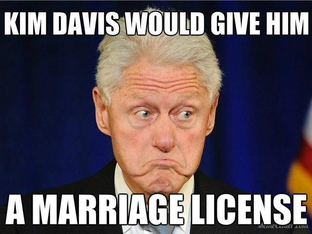 bill clinton marriage