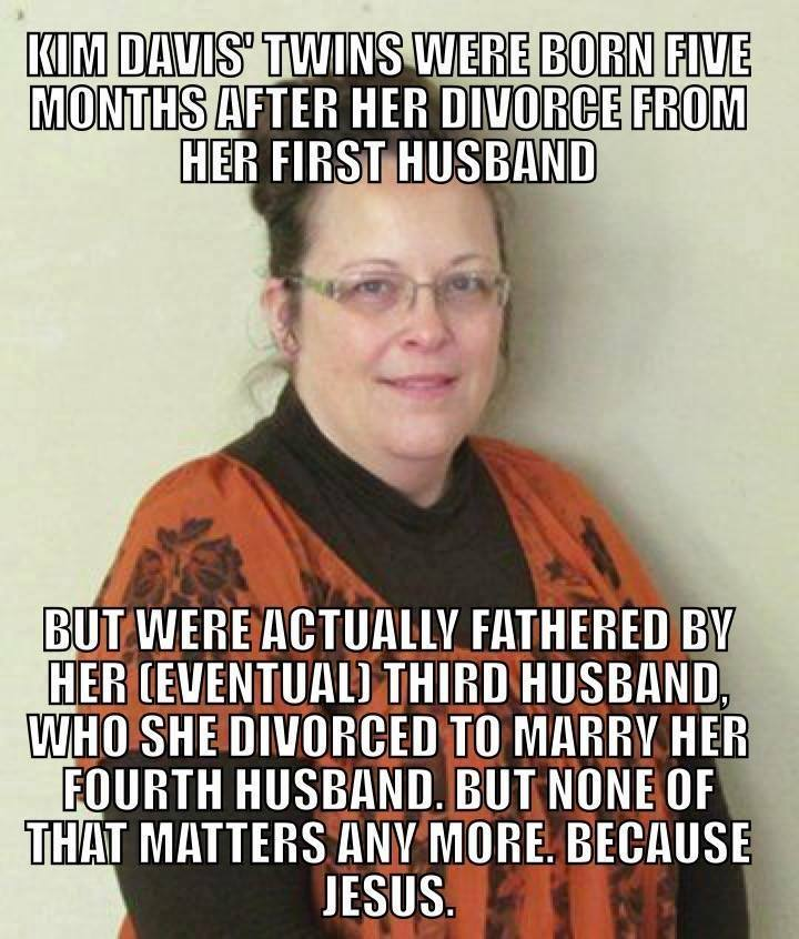 kim davis multi babies and marriages