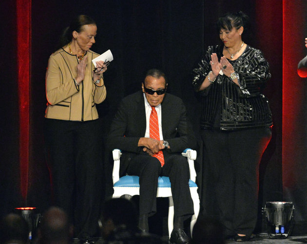 Muhammad Ali, Lonnie Ali, Marilyn Williams