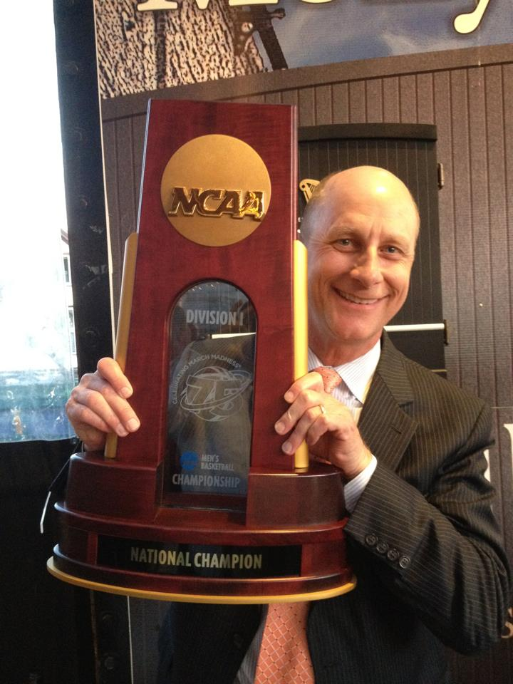 terry NCAA Championship Trophy 2013