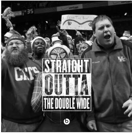 UK fans straight outta double wide