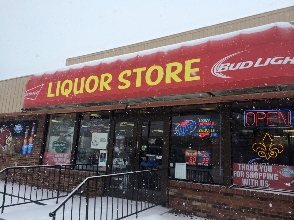 liquor store open snow