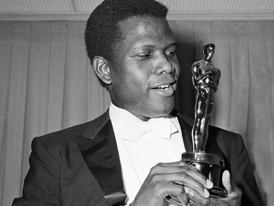 "Sidney Poitier, the first African American male to win a Best Actor leading role Oscar  (1963) ""The Lillies of the Field"""