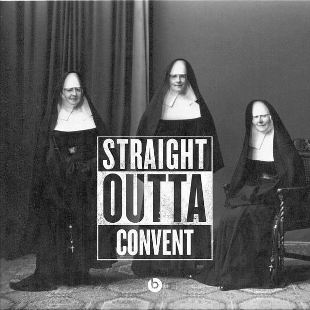 straight outta convent