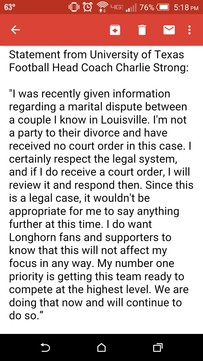 statement released on February 21, 2016