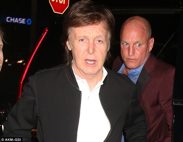 paul mccartney woody harrelson