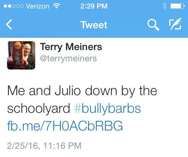 terry tweet
