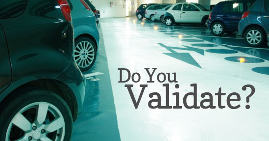 validated parking