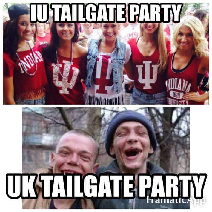 IU vs UK tailgate