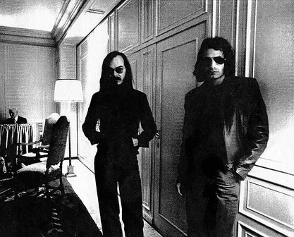 Steely Dan's Walter Becker and Donald Fagen...too hip for this planet back in 1972.