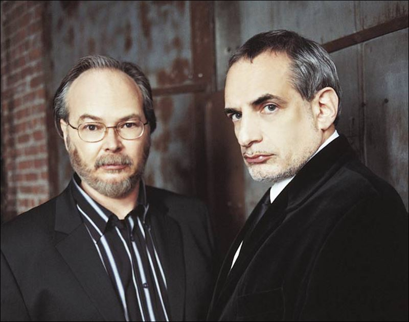 Walter Becker and Donald Fagen in 2014.  Still pretending like the girls are throwing themselves at them.  Whatevs, pops.  Just play Hey Nineteen and this time listen to the words.