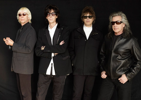 The Cars in 2011.  Still brooding like douche nozzles a thousand years after girls stopped screaming for them.